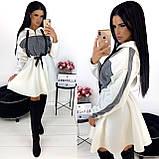 Платье женское чёрное, белое, бежевое, хаки, фото 3