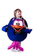 Детские карнавальный костюм для мальчика Кар-Карыч «Смешарики» 110-125 см, синий, фото 1