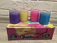 Слайм цветной с блеском 150 грамм
