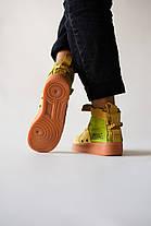 Мужские кроссовки в стиле Nike Special Field Air Force 1 Olive, фото 3