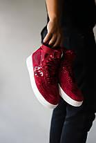 Мужские кроссовки в стиле Nike Special Field Air Force 1 Red, фото 3