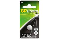 Батарейка GP Lithium CR1220 C5 цена 1шт 3V