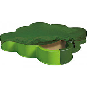 BIG Пісочниця з кришкою Vario зелена (56722)