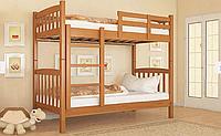 Двухъярусеая кровать из массива дерева- Бай-Бай