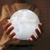 3D ночник Луна 13см