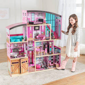 Kidkraft Інтерактивний дерев'яний будинок Shimmer Mansion House (65949)