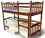 Двухъярусеая кровать из массива дерева- Бай-Бай, фото 5
