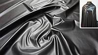 Искусственная кожа (Экокожа) чёрная, фото 1