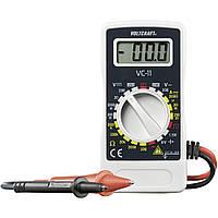 Цифровой компактный мультиметр (250В, 2МОм) VOLTCRAFT VC-11 Германия (MR0122)