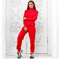 Женский спортивный костюм красный, фото 1