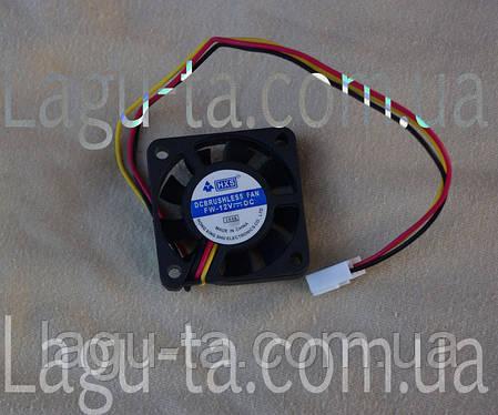 Вентилятор 40мм*40мм*11мм - DC12в, 3pin., фото 2