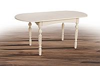 Стол обеденный Бруно (белый)