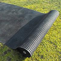 Коврик резиновый рулонный 183 х 1000 х 1 см чёрный