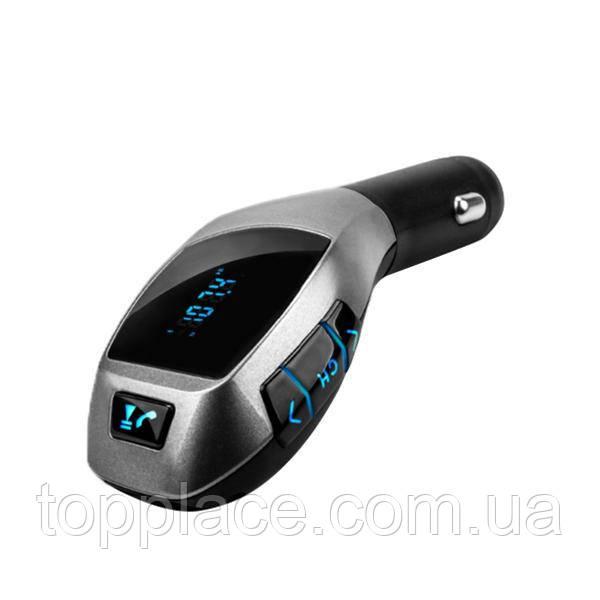 FM модулятор H20BT з пультом і функцією Bluetooth, Grey