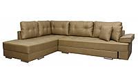 "Угловой диван ""Принстон"". Амели Беж. Габариты: 2,95 х 2,10  Спальное место: 2,00 х 1,60, фото 1"
