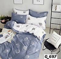Полуторное постельное бельё бязь