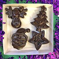 Новогодний Подарочный Набор Шоколадные фигурки 200 г.