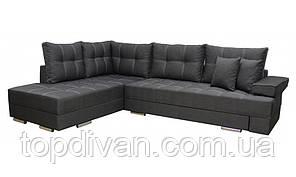 """Кутовий диван """"Прінстон"""". Багама 35. Габарити: 2,95 х 2,10 Спальне місце: 2,00 х 1,60"""