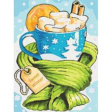 Картина по номерам Сладкая зима