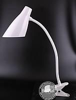 Настольная LED лампа для мастера маникюра FX018, 5 W (на прищепке)