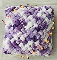 Подушка из ализе пуффи alize puffy
