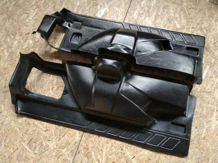Обивка багажника ВАЗ 21213, Сызрань (2 части), пластик