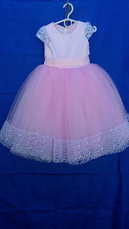 Дитяча сукня р. 4-5 років опт євро сітка, фото 2