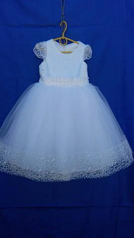 Детское нарядное платье  р.4-5 лет опт  евро сетка, фото 2