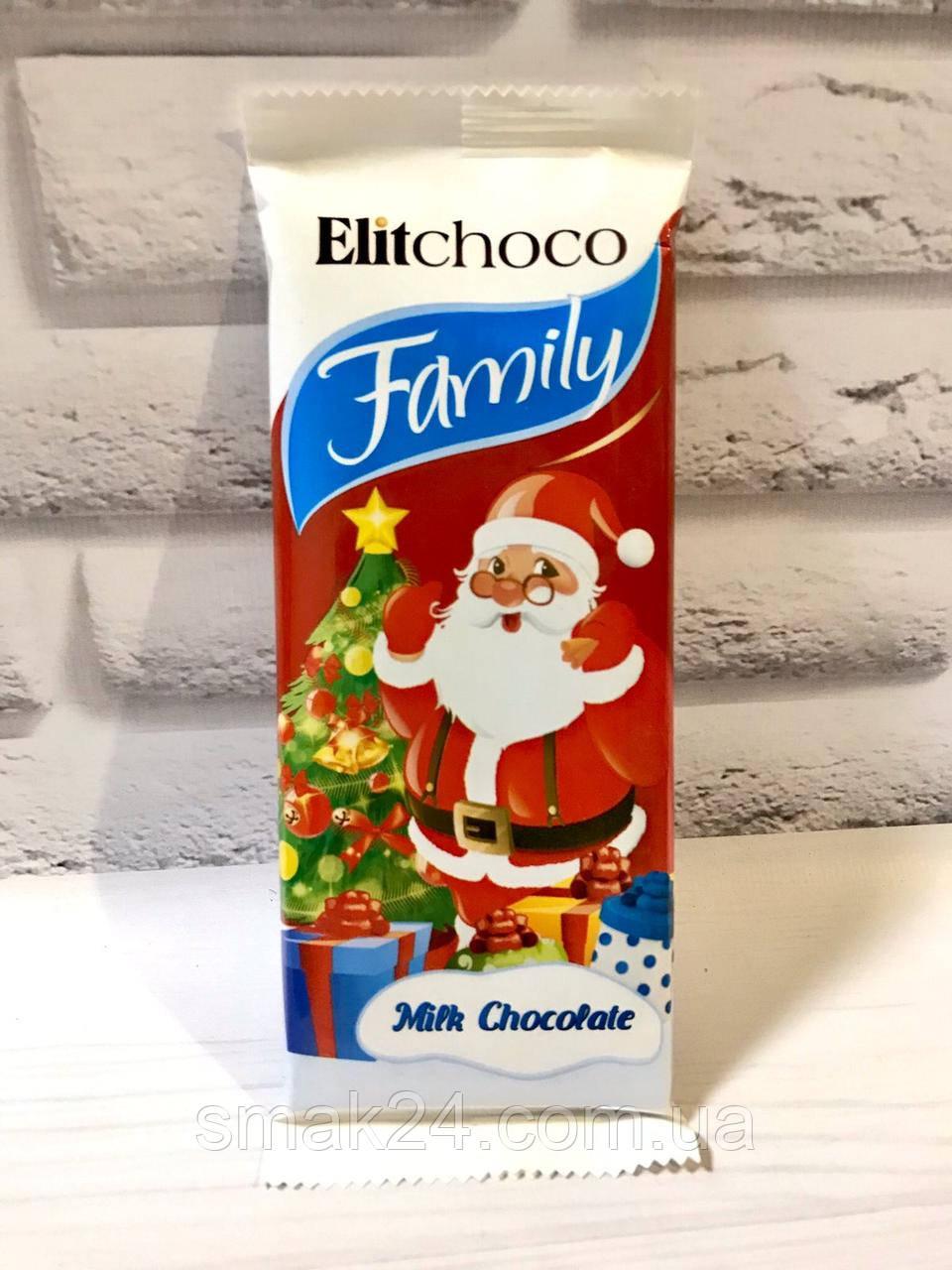 Шоколад молочный  Family Рождество Польша 100г