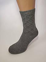 Мужские носки зимние темно серые