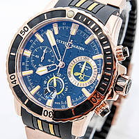 Часы ULYSSE NARDIN Diver Chronograph Hammerhead Shark Quartz.Класс ААА, фото 1