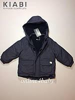 Зимняя куртка Kiabi на мальчика 2-3 года
