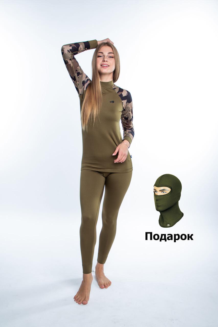 Комплект женского термобелья Radical Shooter, спортивное термобелье с балаклавой в подарок!