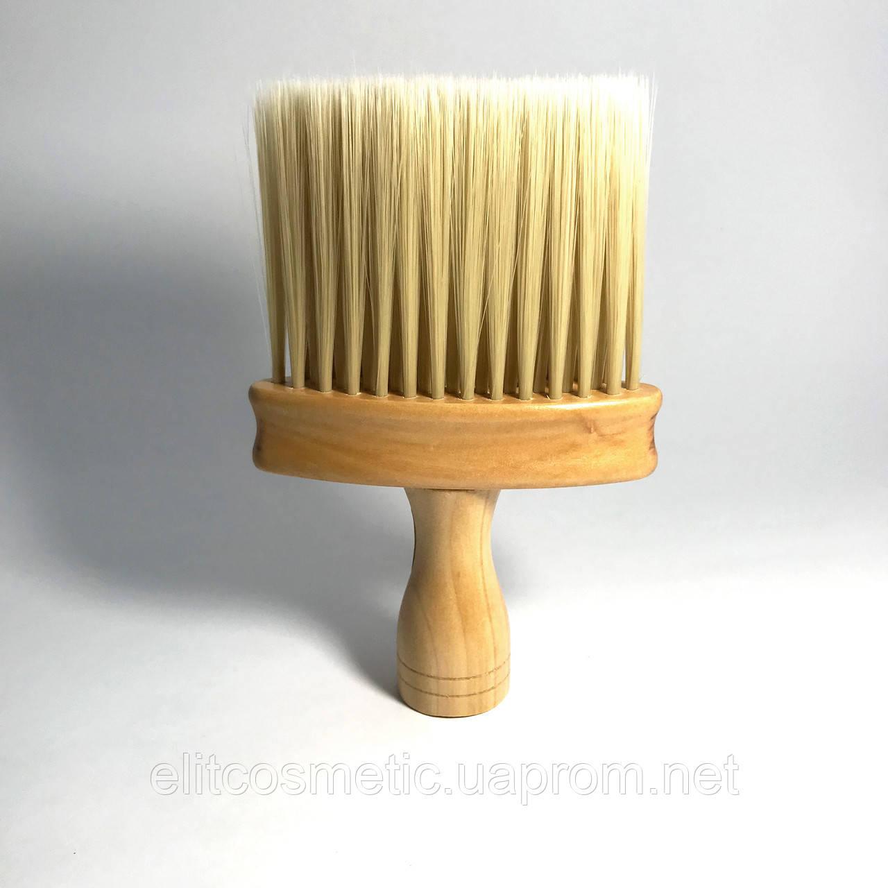 Сметка для волос DenIS professional барбер золотой ворс