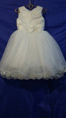 Детское нарядное платье р.3-4 лет опт, фото 2