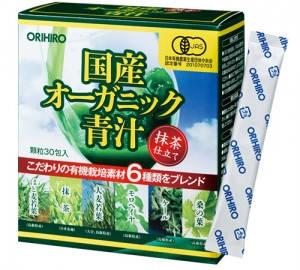 Orihiro Аодзиру органічні сублімовані соки рослин Японії 30 саше по 2 гр на 30 днів