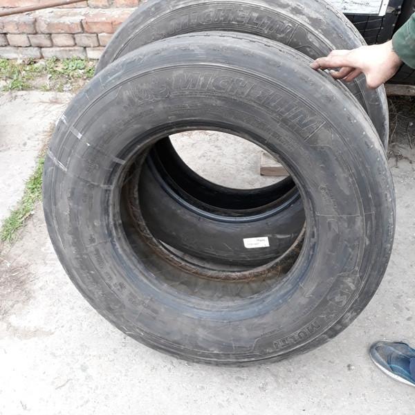 Шины б.у. 285.70.r19.5 Michelin Xmulti Мишлен. Резина бу для грузовиков и автобусов