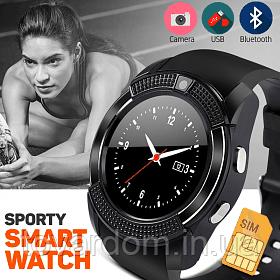 Умные часы / Smart Watch V8 Black