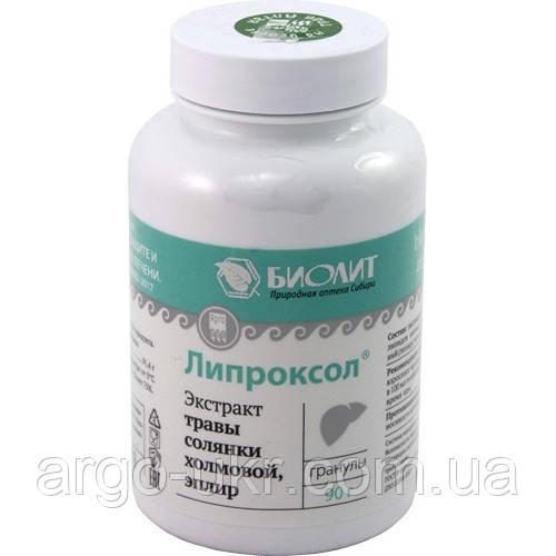 Липроксол Арго Оригинал  (гепатозащитное, восстановление печени, иммунитет, желчегонное, описторхоз, очистка)