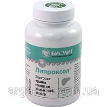 Липроксол Арго Оригінал (гепатозахисну, відновлення печінки, імунітет, жовчогінний, опісторхоз, очищення)