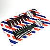 Трехсторонняя расческа для волос  meshcomb 2008, фото 2
