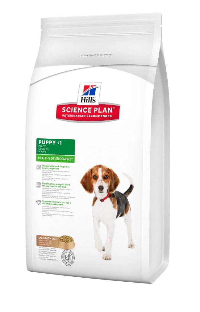 Hills Puppy Healthy Development ягненок для щенков 3 кг