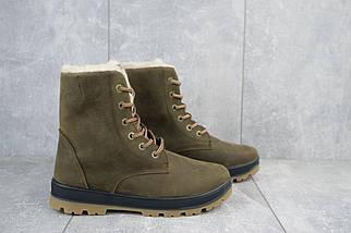 Подростковые ботинки кожаные зимние оливковые-матовые CrosSAV 150, фото 2