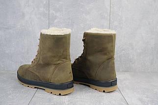 Подростковые ботинки кожаные зимние оливковые-матовые CrosSAV 150, фото 3