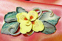 Керамика украшения серьги брошь ,серьги керамика Арт 35