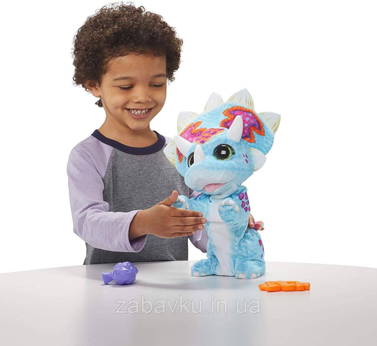 Фурріал інтерактивний Динозавр furReal Hoppin Topper Interactive Plush Pet Toy Hasbro