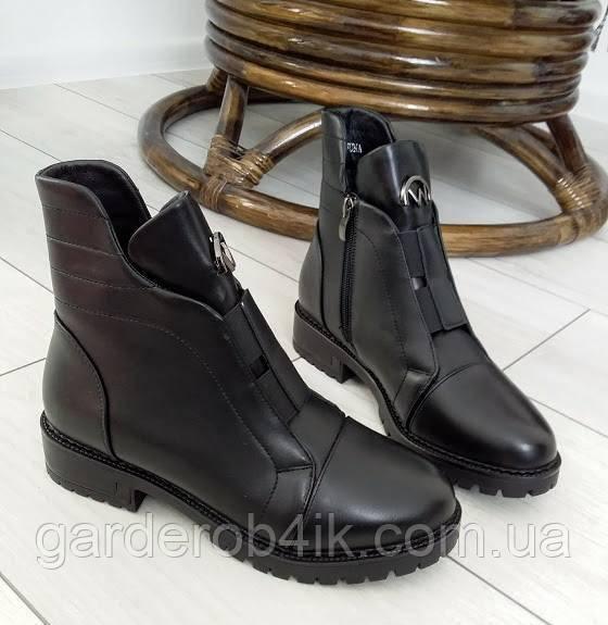 Женские ботинки зимние короткие
