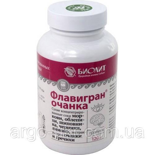 Флавигран Очанка Арго витамины для глаз, катаракта, глаукома, снижение зрения, отслоение сетчатки