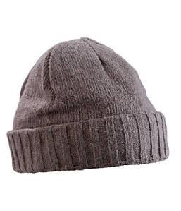 Трикотажная шапка с краем U, MDAR Темно-Серый