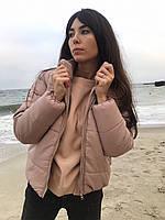 """Молодежная куртка """"Еврозима"""" с высоким воротником -10%, фото 1"""